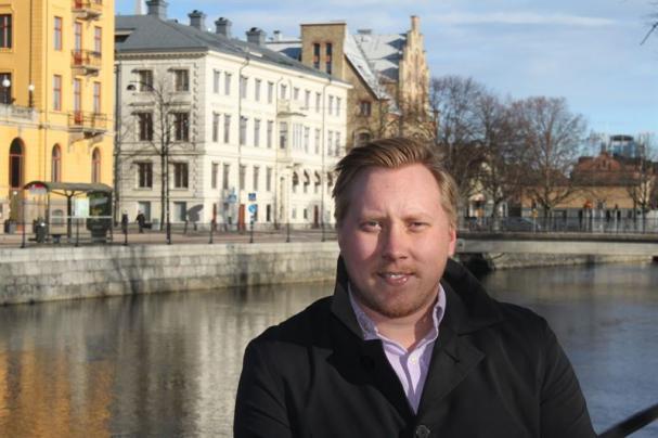 Hartmann Enderberg blir den första medarbetaren som anställs på det nya kontoret.