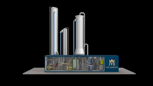 Malmberg Compact ® biogas uppgradering nu i Italien!