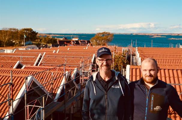 Torbjörn Backlund och Emil Wiik Gundersen.