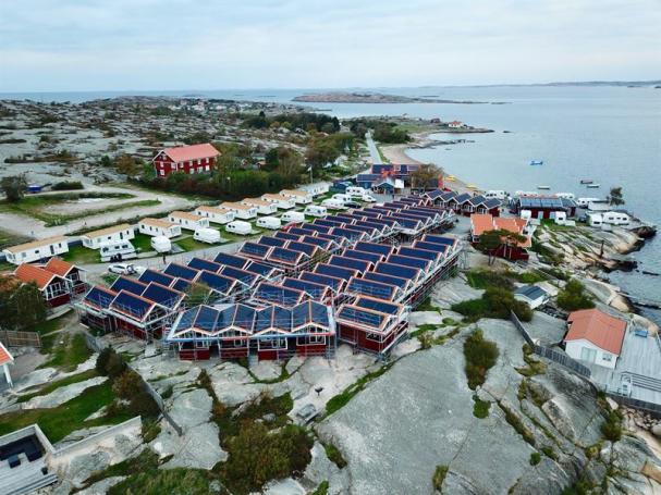 Solcellsanläggning i Ramsvik.