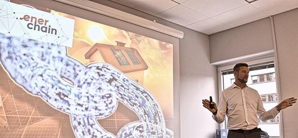 Hans Nyblom, föredragshållare om smarta installationer.
