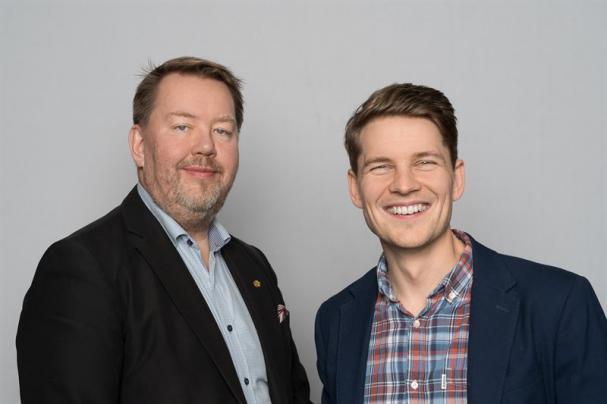 Pär Dunder, vd W3 Energy, och Per Olofsson, styrelseordförande W3 Energy.