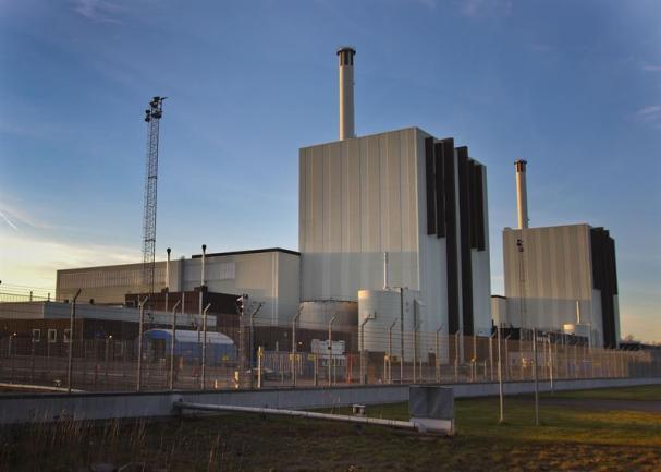 Försmark kärnkraftverk.