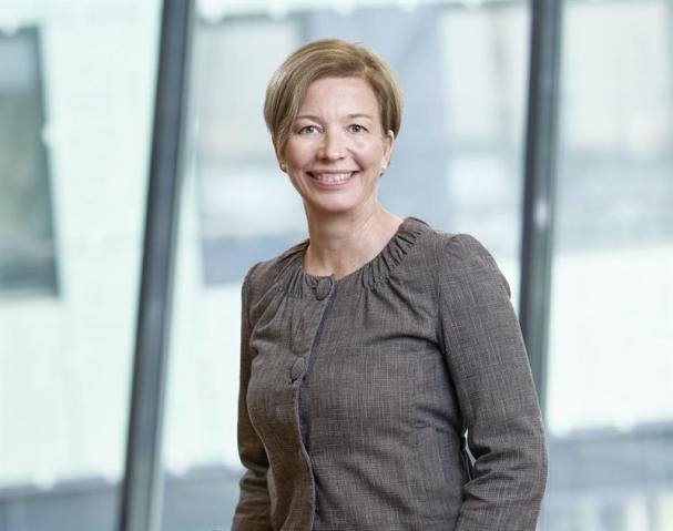 Sandra Grauers Nilsson, chef för landbaserad vindkraft på Vattenfall.