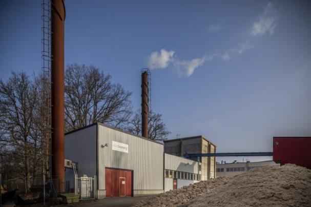 Ett nytt bränslesystem är på gång att installeras på Solör Bioenergis fjärrvärmeanläggning i Lammhult.