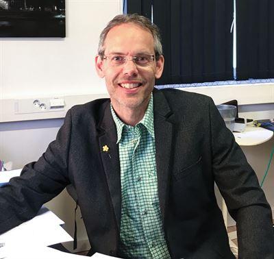Patrik Blidefalk, patentingenjör på Absolicon.