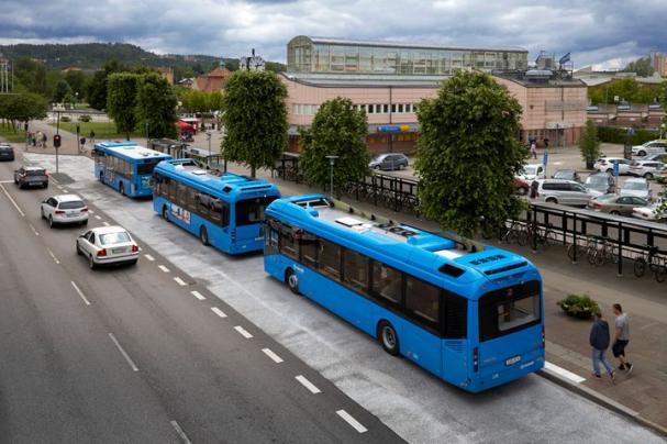 Elbussarna börjar rulla i Uddevalla den 17 juni. Förhandsvisningen sker den 11 juni.