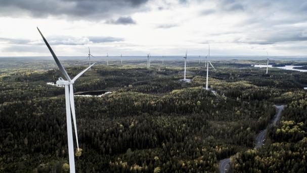 Borealis tecknar avtal om kraft från Kronoberget vindkraftpark i de kommande tio åren för att driva produktionen i Stenungsund.