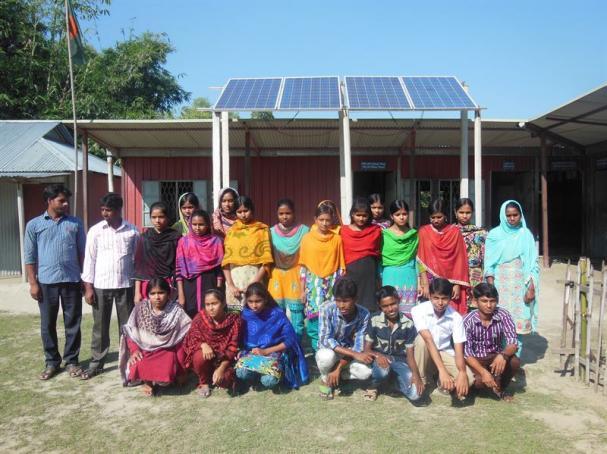 Skola Batikamari Bangladesh.