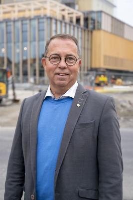 Patrik Sundberg, affärsenhetschef produkter och tjänster på Skellefteå Kraft.