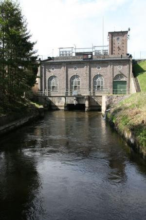 Svartåfors vattenkraftverk.