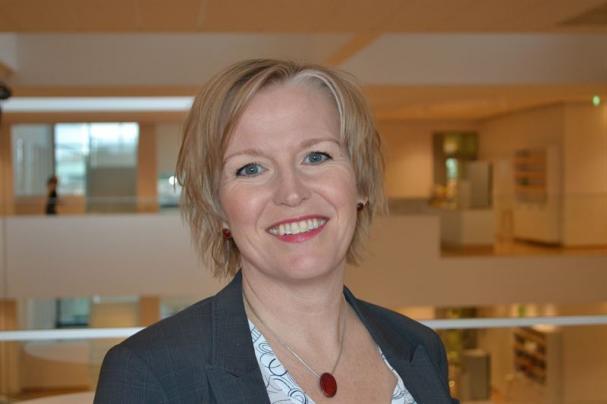 Maria Lindberg chef elektrifierade tunga transporter på Vattenfall.