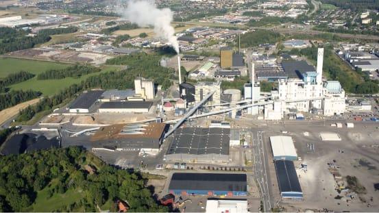 Mälarenergi investerar 1,7 miljarder kronor i nya Block 7 och ersätter kol och olja med återvunnet trä som bränsle.