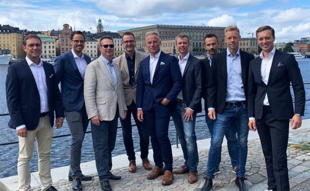 Kristoffer Stralström, Robin Boheman, Ulf Bergquist, Andreas Kreü, Emil Bergquist, Klas Larsson, Jimmy Andersson, Tobias Godlund och Gustaf Larsson Ehrenfelt.