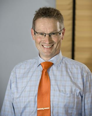 Karl Bergman, forskningschef, Vattenfall AB.