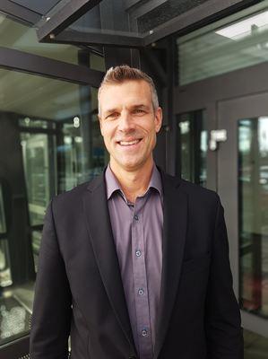 <span>Fredrik Torstensson, ny regionchef för området sprinkler. </span>