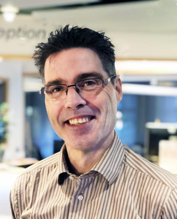 Mattias Gustafsson, industridoktorand.