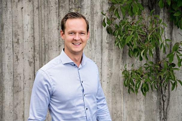 Eric Wennberg, chef pris och produkt.