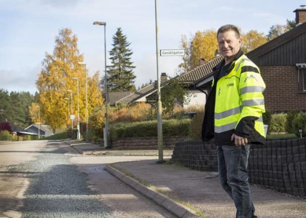 Av arbetet med fjärrvärmeanslutningarna i Junkaremålen återstår nu en del jobb med inomhusinstallationerna samt kommunens asfaltering.