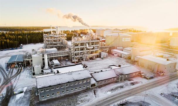 SunPines fabrik i Piteå.