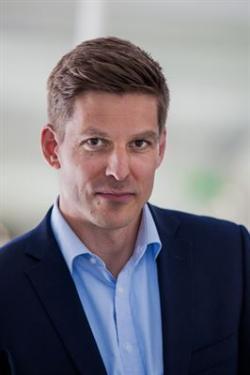 Erik Rylander, chef för Öppen Fjärrvärme.