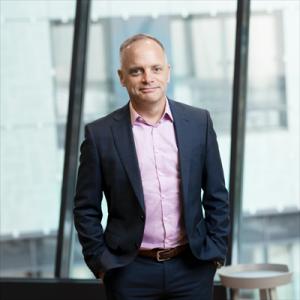 Jonas Stenbeck,privatkundschef Vattenfall Försäljning.<span><span><span></span></span></span>