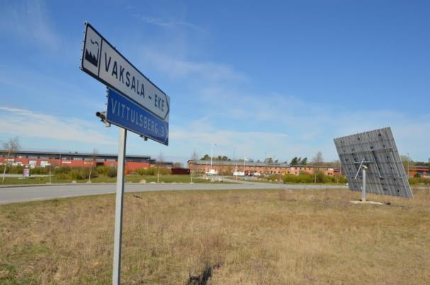 I Vaksala Eke testas den nya energistyrningen som ska utnyttja egenproducerad solel till max