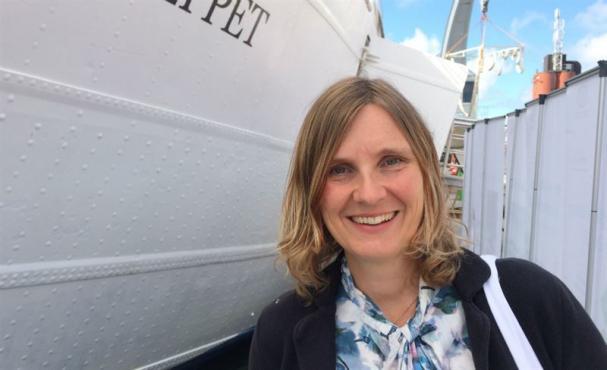 Mari-Louise Persson, energistrateg på Riksbyggen.