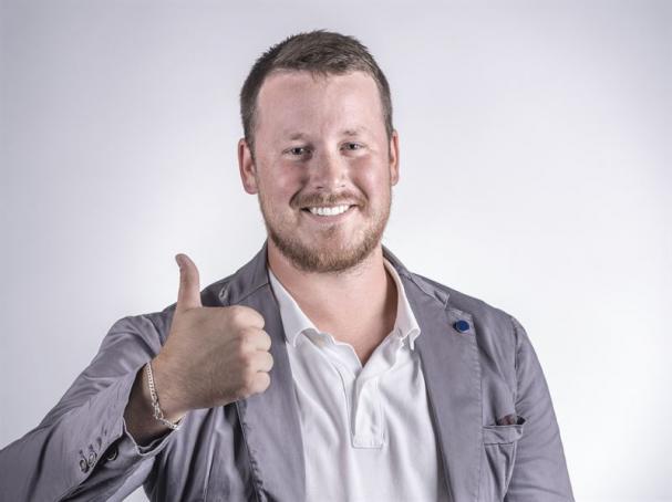 Oscar Gantz Regionchef Mitt på Vinnergi.