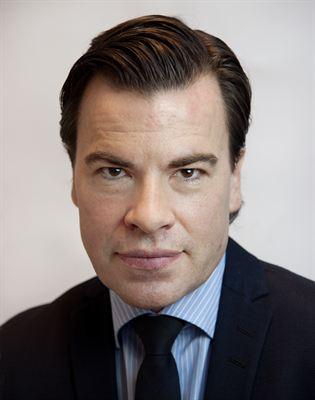 Stefan Patrikson, chef för affärsutveckling på Fortum Värme