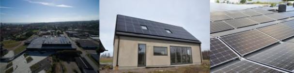 Finalisterna till Skåne Solar Award: Ystads Energi, Hässleberga 2:13 i Genarp och Österlens Lastvagns AB