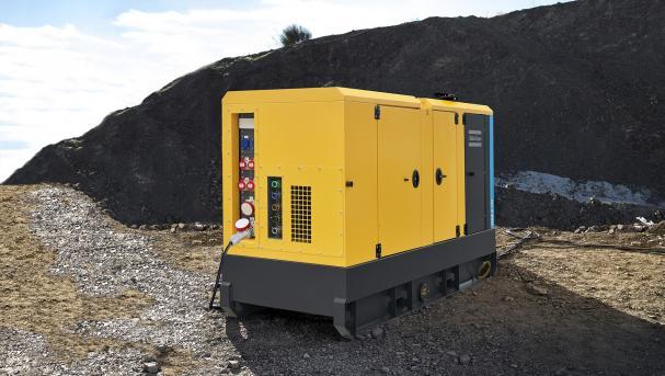 Atlas Copco har lanserat den femte generationen generatorer i sin flaggskeppsserie QAS.
