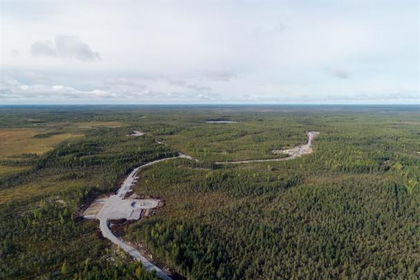 OX2 bygger Metsälamminkangas vindpark, en av de största vindparkerna i Finland.