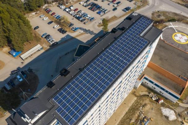 Anläggningen i Lycksele producerar cirka 40 000 kilowattimmar per år och kräver lite underhåll.