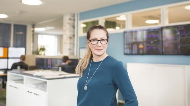 Matina Rosenberg, analytiker och meteorlog på Bixia.