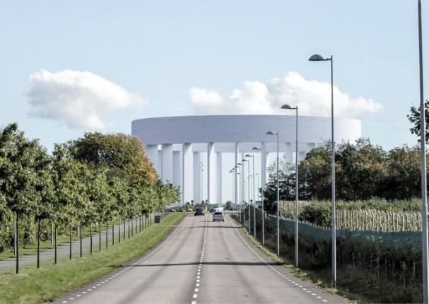 För att säkra den framtida vattendistributionen kommer ytterligare ett vattentorn att byggas i Helsingborg. Det nya vattentornet placeras intill Österleden i höjd med Filbornavägen.