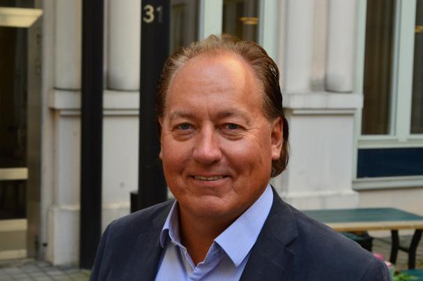 Björn Lindforss, projektledare på S.E.E.