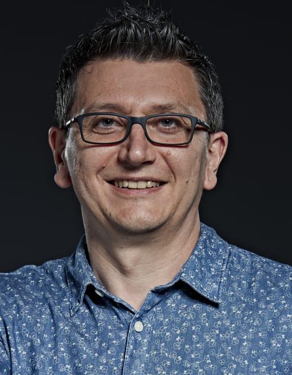 Christophe Demazière, professor på institutionen för fysik på Chalmers och koordinator för EU-projektet Great Pioneer.