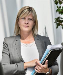 Helle Herk-Hansen, miljöchef på Vattenfall.