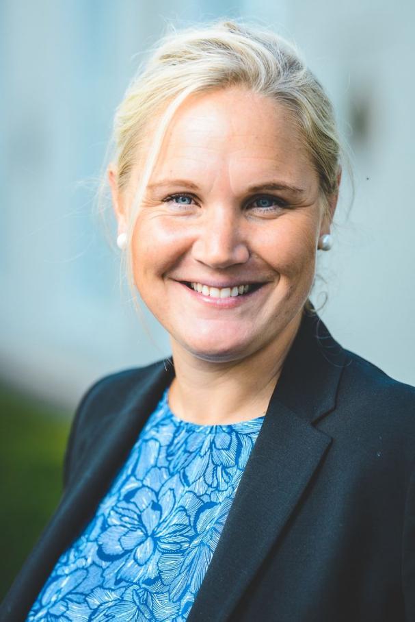 Maria Bolin Anvill, ny vd för Utvecklingsklustret Energi AB.