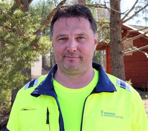 Peter Forsberg, platschef Stakhedens Plantskola.