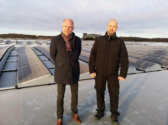 Thomas Persson ochJim Hansson PostNord TPL.