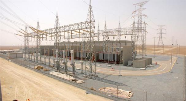 <span>Elkraftsanläggning liknande den som ska byggas i Dubai.</span>