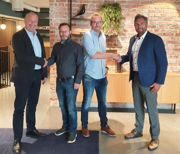 Geir Andersen, Knut Bergersen, Kjetil Bjerkland och Roger Aksnes.