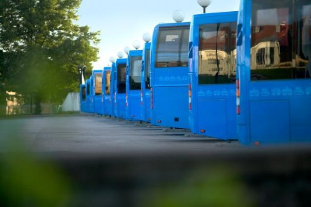 Under augusti börjar fem elbussar att köra i Ale.