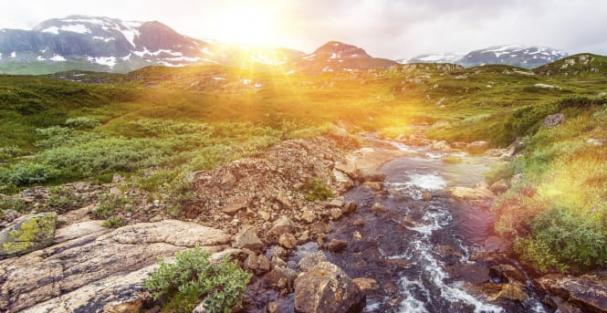Vårfloden är ovanligt kraftig i år, menar Anders Kaijser som är VD för Kundkraft.