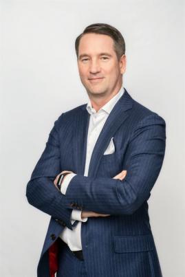 Alexander Rosenlew, vd Orthex Corporation.