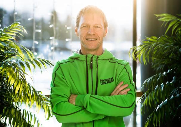 Jens Isemo, vd på Linde energi.