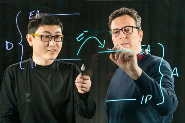 Kai Xu och Simone Fabiano är två av författarna till artikeln.