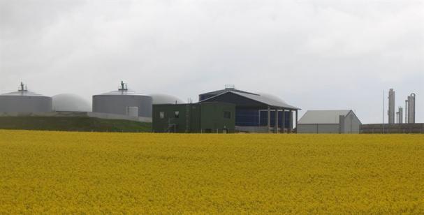 Jordberga Gasum, biogas anläggning.